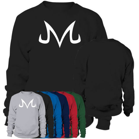 Sweat shirt logo Majin blanc