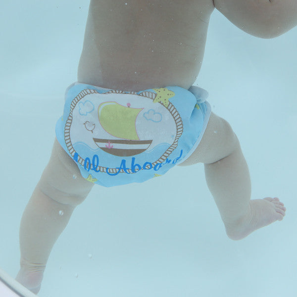 Swimava Baby Swim Diaper - Boat Design