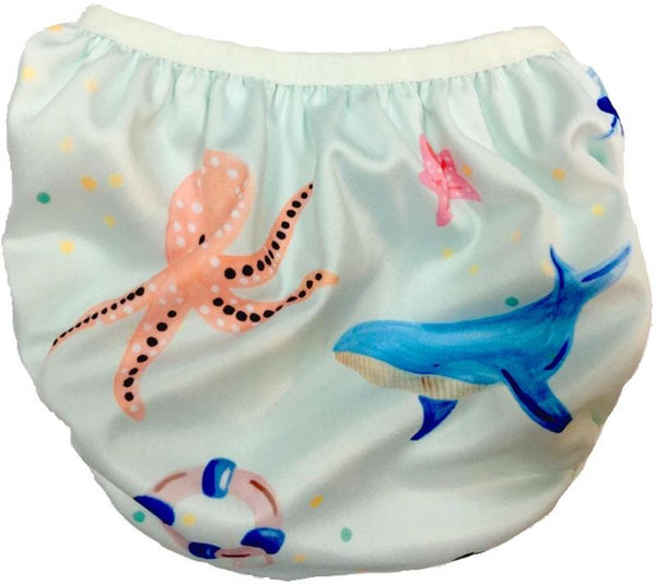 Swimava Baby Swim Diaper - Ocean Life Design
