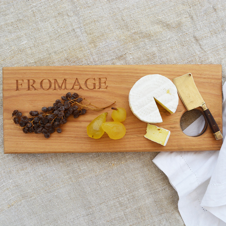 fromage cheese board