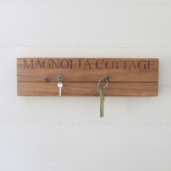 personalised key holder