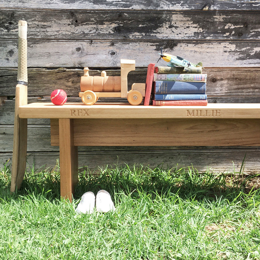 personalised bench