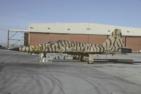 F-5E 160795/AF-23 USN/VFC-13 at NAS El Centro Oct-02