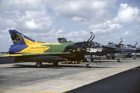 Mirage F-103E FAB4922 Brazilian AF/1°GDA at Natal Nov-04