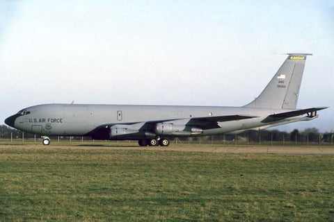 KC-135D 63-8060 USAF/117thARS,Ks ANG at RAF Mildenhall Feb-96