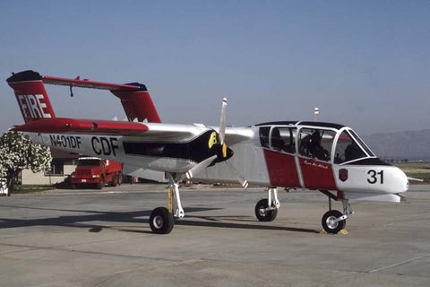 OV-10D N401DF California Fire Department Jul-94