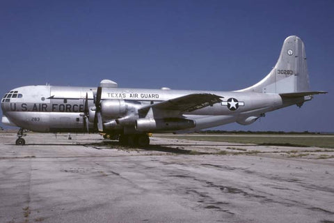 KC-97L 53-0283 USAF/181stARS,Tx ANG at Carswell AFB Jul-98