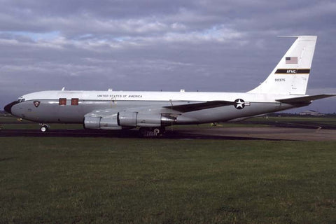 C-135E 60-0375 USAF/452ndFLTS,Kirtland Argus Flt Test a/c at Mildenhall May-97