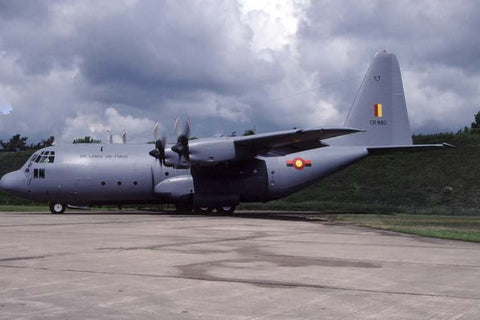 C-130K CR-880 Sri Lankan AF/2HTS at Cambridge May-00