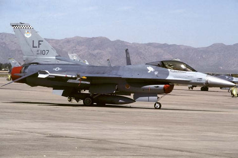 F-16C 89-2107/LF USAF/56thFW at Luke AFB May-97