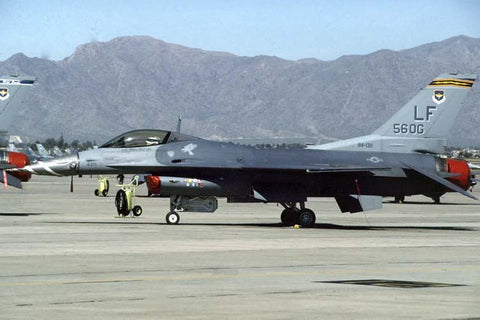 F-16C 84-1311/LF USAF/56thFW marked '56OG' at Luke AFB May-97