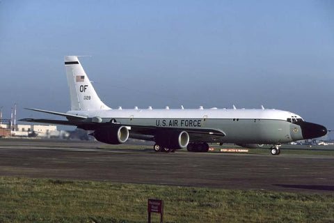 RC-135S 62-4128/OF USAF/45thRS,55thWG at RAF Mildenhall Dec-05