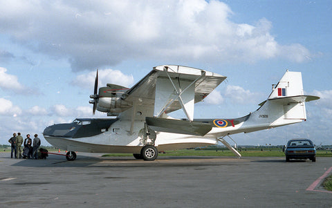 JV928 PBY-5A Catalina flew as G-BLSC