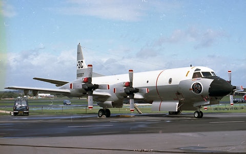 159327 P-3C USN/Lockheed at SBAC Farnborough