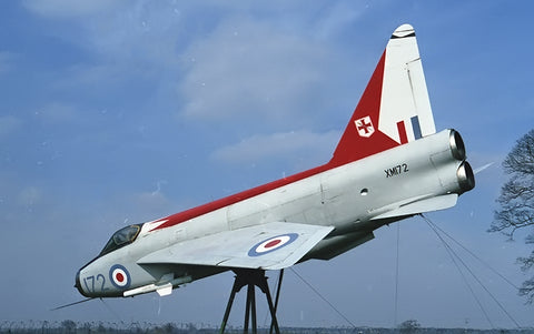 XM172 Lightning F.1A RAF/ex 226OCU Coltishall gate guard