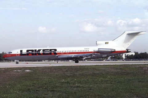 B.727-200 N740US Laker AW Bahamas Feb-93