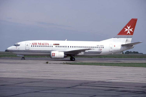 B.737-300 9H-ABS Air Malta May-99