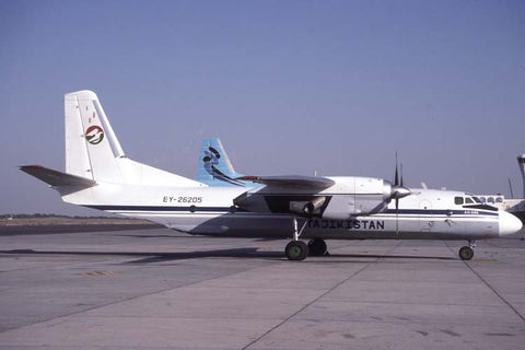 An-26B EY-26205 Tajikslan Air Oct-98