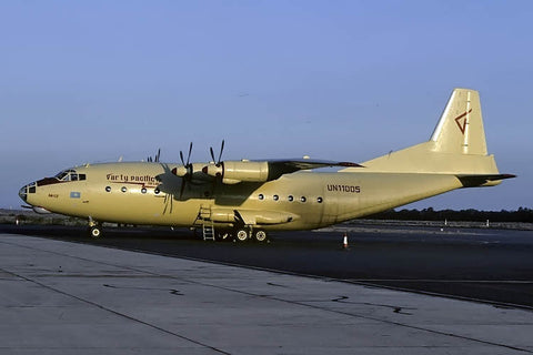 An-12BP UN11005 Varty Pacific Ailrlines Nov-00