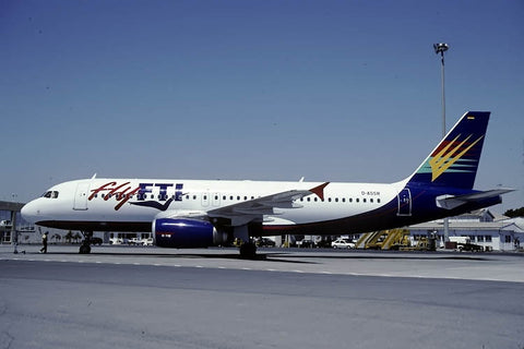 A.320-200 D-ASSR Fly FTI May-00