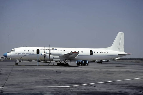IL-18E 3C-KKR Damal Airlines Jan-00