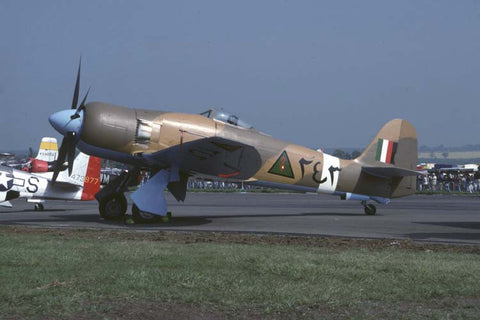 Sea Fury FB.10 243 in Iraqi AF colours May-94 - flew as G-BTTA