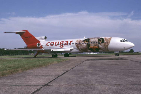 B.727-200 G-OPMN Cougar Airlines Aug-01