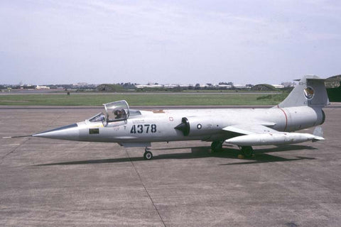 F-104G 4378/63-13260 Rep of China AF/5thTFW Aug-96