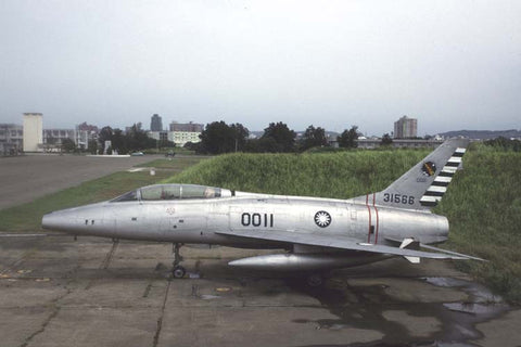 F-100F 0011/31566 Rep of China AF Aug-96