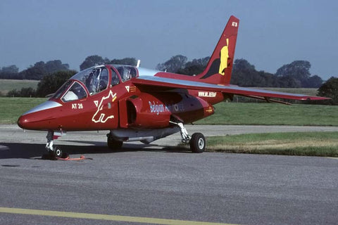 Alphajet AT-26 Belgian AF/7Sqdn at RAF Cottesmore Jul-01