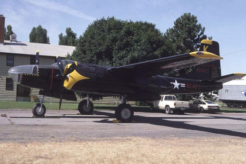 A-26C 44-34423/K USAF preserved at Spokane, Wa no date