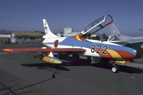 T-1A 15-5822 JASDF/13thFTW at Ashiya Nov-97