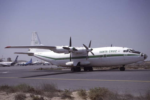 An-12BK EL-ALJ Santa Cruz Imperial Oct-01