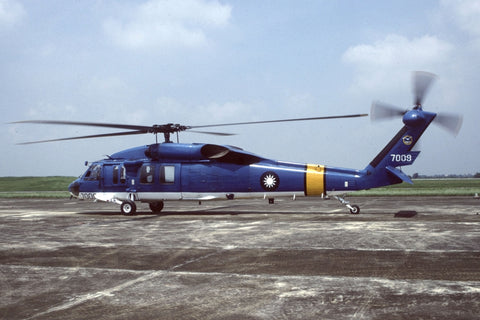S-70C 7009 Rep of China AF/SAR Sqdn Aug-96