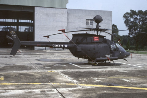OH-58D 609/93-01018 Rep of China AF/601st AirBgde Aug96