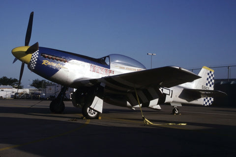 P-51D '45-11471/D-JI' flew as N270MS 'Rajun Cajun' Jul-98