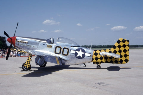 P-51D 45-11391 flew as N51WT 'Nervous Energy V' no date