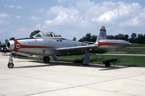 F-84G painted as '51791' USAF/162ndTFS (Oh ANG) Jul-82