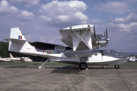 PBY.5A JV928/Y RAF flew as G-BLSC at West Malling Sep-85