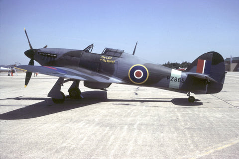 Hurricane Mk IIC RAF flew as PZ865 'The Last of the Many' Sep-87