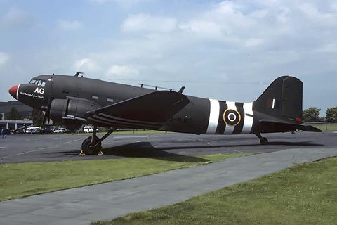 C-47A  42-23974 flew as ZS-NJE 'Field Marshall Jan Smutts' May-94