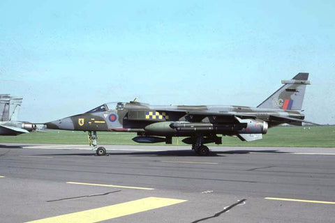 Jaguar GR.1 XZ387/GG RAF/54Sqdn May-90