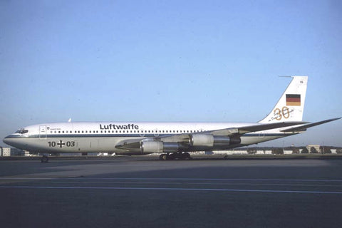 B.707-300 10+03 German AF/FBS BMVg 30th anniversary c/s 1999