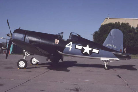FG-1D Corsair 92095 flew as NX67HP 'Ruthless II' Oct-92