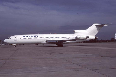 B.727-200 ZS-NOV Safair Aug-95
