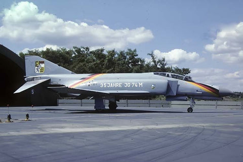 F-4F 37+61 German AF/JG-74 no date - 35th anniversary marks!