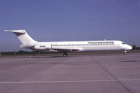 MD-87 SE-DHI Transwede Aviation no date