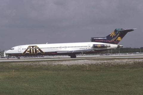B.727-200 N754US ATA Airlines Dec-97