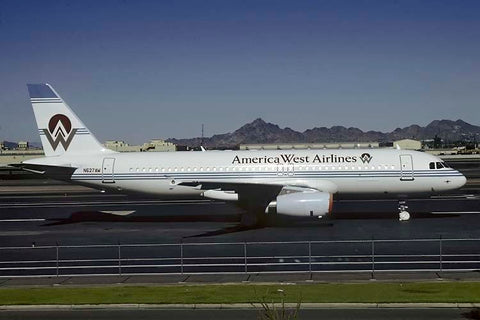 A320-200 N627AW America West Airlines Nov-90