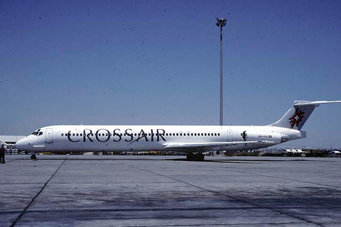 MD-81 HB-IUH Crossair May-00